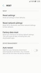 Samsung Galaxy S6 - Android Nougat - Mobile phone - Resetting to factory settings - Step 6