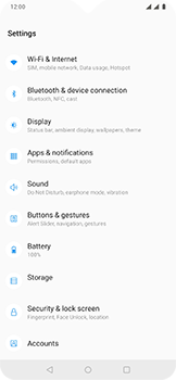 OnePlus 6T - Internet - Manual configuration - Step 4