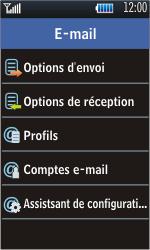 Samsung S5620 Monte - E-mail - configuration manuelle - Étape 14