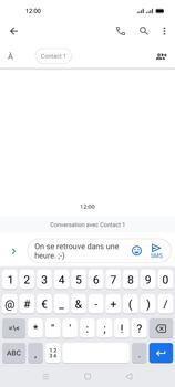 Oppo A53s - Contact, Appels, SMS/MMS - Envoyer un SMS - Étape 11