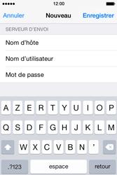 Apple iPhone 4S (iOS 8) - E-mails - Ajouter ou modifier un compte e-mail - Étape 15