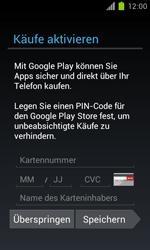 Samsung Galaxy S II - Apps - Einrichten des App Stores - Schritt 13