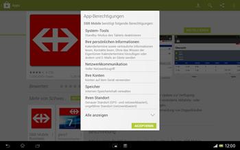 Sony Xperia Tablet Z LTE - Apps - Installieren von Apps - Schritt 23