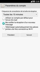 Huawei Ascend G6 - E-mail - Configuration manuelle - Étape 17