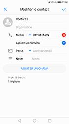 Honor 6A - Contact, Appels, SMS/MMS - Ajouter un contact - Étape 8