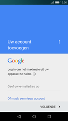 Huawei P8 Lite - Applicaties - Account instellen - Stap 3