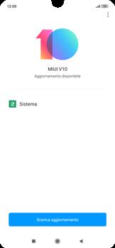 Xiaomi RedMi Note 7 - Software - Installazione degli aggiornamenti software - Fase 6