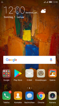 Huawei Mate 9 Pro - Anrufe - Anrufe blockieren - Schritt 2
