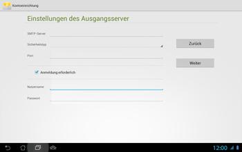 Asus Padfone 2 - E-Mail - Konto einrichten - Schritt 16