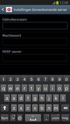 Samsung N7100 Galaxy Note II - E-mail - Handmatig instellen - Stap 6