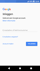 Sony Xperia X Compact (F5321) - Android Oreo - Applicaties - Account instellen - Stap 5