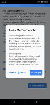 Huawei P20 - Android Pie - Apps - Konto anlegen und einrichten - Schritt 17