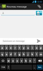 Bouygues Telecom Bs 401 - Contact, Appels, SMS/MMS - Envoyer un SMS - Étape 5
