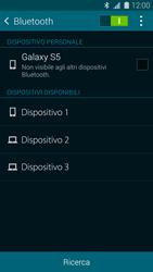 Samsung Galaxy S 5 - Bluetooth - Collegamento dei dispositivi - Fase 6