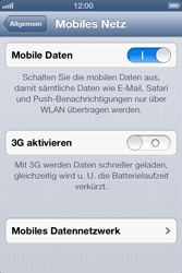 Apple iPhone 4 - MMS - manuelle Konfiguration - Schritt 6
