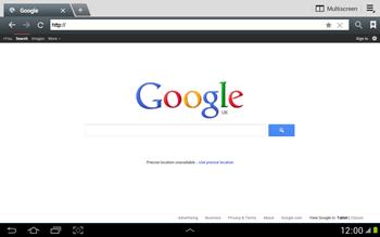 Samsung N8000 Galaxy Note 10-1 - Internet - Internet browsing - Step 3