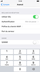 Apple iPhone 6s - iOS 11 - E-mail - Configuration manuelle - Étape 26