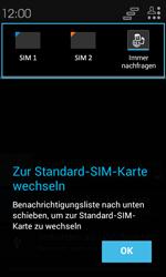 Alcatel Pop C3 - Anrufe - Rufumleitungen setzen und löschen - 4 / 13