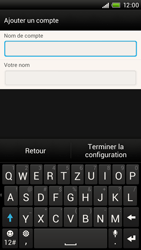 HTC One X - E-mail - Configuration manuelle - Étape 15