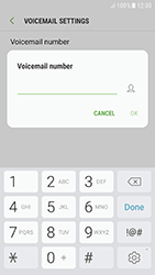 Samsung A320F Galaxy A3 (2017) - Android Nougat - Voicemail - Manual configuration - Step 8