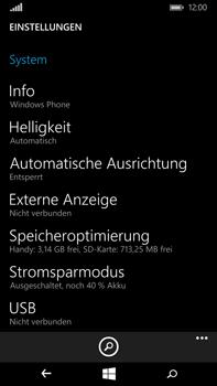 Microsoft Lumia 640 XL - Fehlerbehebung - Handy zurücksetzen - Schritt 6