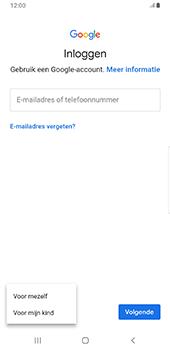 Samsung galaxy-s9-plus-sm-g965f-android-pie - Applicaties - Account aanmaken - Stap 6