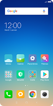 Xiaomi Redmi 5 - Internet - Configuration manuelle - Étape 1