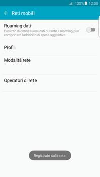 Samsung Galaxy S6 edge+ (G928F) - Rete - Selezione manuale della rete - Fase 10