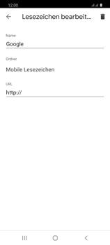 Samsung Galaxy S20 5G - Internet und Datenroaming - Verwenden des Internets - Schritt 12