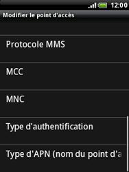 HTC A3333 Wildfire - Internet - configuration manuelle - Étape 11