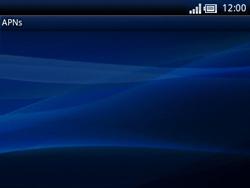 Sony Ericsson Xperia X10 Mini Pro - Internet - Manuelle Konfiguration - Schritt 8