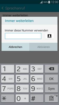 Samsung N910F Galaxy Note 4 - Anrufe - Rufumleitungen setzen und löschen - Schritt 10
