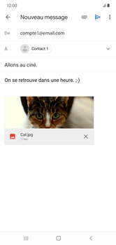 Samsung Galaxy Note 10+ - E-mails - Envoyer un e-mail - Étape 16