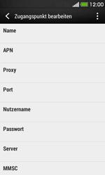 HTC Desire 500 - Internet - Manuelle Konfiguration - Schritt 10