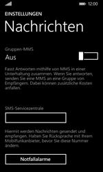 Nokia Lumia 635 - SMS - Manuelle Konfiguration - Schritt 6