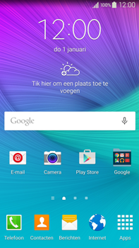 Samsung N910F Galaxy Note 4 - E-mail - handmatig instellen (outlook) - Stap 2