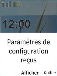 Nokia X2-00 - Internet - Configuration automatique - Étape 3