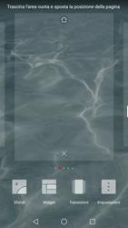 Huawei P10 - Operazioni iniziali - Installazione di widget e applicazioni nella schermata iniziale - Fase 4