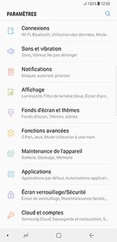 Samsung Galaxy Note 8 - Internet et connexion - Accéder au réseau Wi-Fi - Étape 4