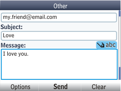 Nokia Asha 302 - E-mail - Sending emails - Step 11