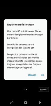 Samsung Galaxy S8 - Photos, vidéos, musique - Prendre une photo - Étape 4
