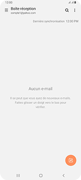 Samsung Galaxy A80 - E-mail - 032b. Email wizard - Yahoo - Étape 10