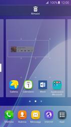 Samsung Galaxy A5 (2016) (A510F) - Operazioni iniziali - Installazione di widget e applicazioni nella schermata iniziale - Fase 7