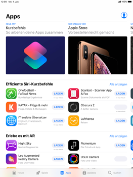 Apple iPad Pro 9.7 inch - iOS 12 - Apps - Herunterladen - Schritt 6