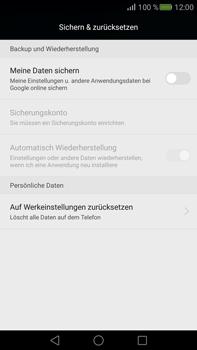 Huawei Mate S - Fehlerbehebung - Handy zurücksetzen - 7 / 10