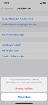 Apple iPhone 11 Pro - iOS 14 - Gerät - Zurücksetzen auf die Werkseinstellungen - Schritt 6