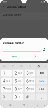 Samsung Galaxy A70 - Voicemail - Manual configuration - Step 10