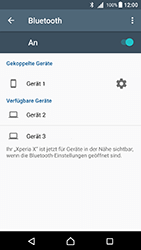 Sony Xperia X (F5121) - Android Nougat - Bluetooth - Geräte koppeln - Schritt 10