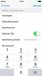 Apple iPhone SE - iOS 10 - E-mail - Account instellen (IMAP met SMTP-verificatie) - Stap 22