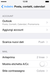 Apple iPhone 4S iOS 7 - E-mail - 032c. Email wizard - Outlook - Fase 10